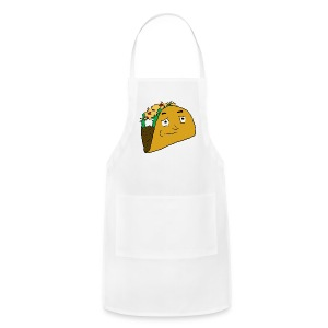 NoobieTaco Logo - Adjustable Apron