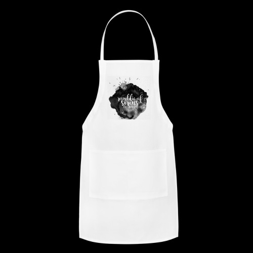 ROS FINE ARTS COMPANY - Black Aqua - Adjustable Apron