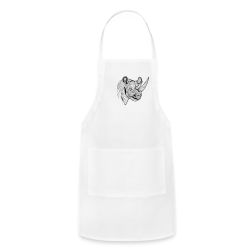 Save the Rhinos - Adjustable Apron