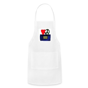 Peace, Love and Equality - Adjustable Apron