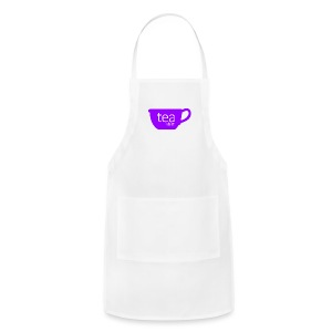 Tea Shirt Simple But Purple - Adjustable Apron