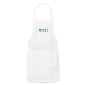 Prime 5 Text Logo - Adjustable Apron