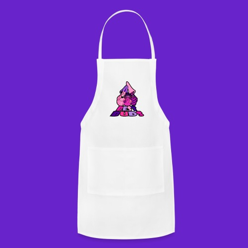 BEST BUDS PINK PURPLE - Adjustable Apron