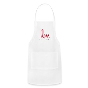 love my boyfriend - Adjustable Apron