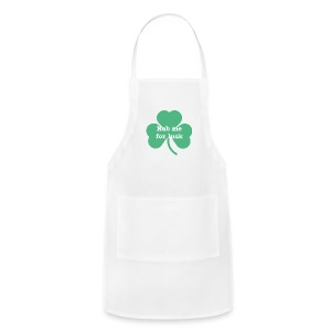Rub me for luck - Adjustable Apron
