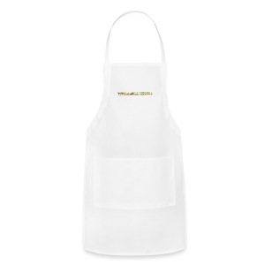 TROLLIEUNICORN gold text limited edition - Adjustable Apron