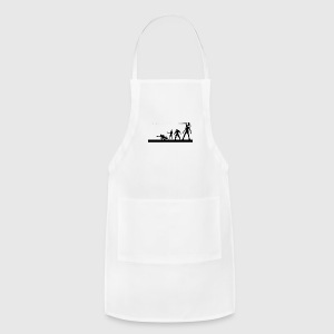 the team guardian of the galaxy - Adjustable Apron