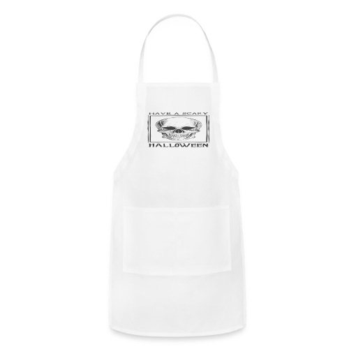 halloween skull - Adjustable Apron