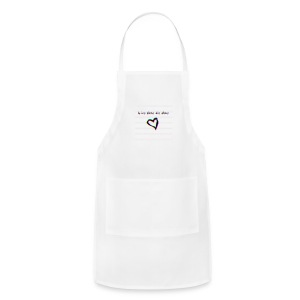 Lil Manny Live Alone Die Alone - Adjustable Apron