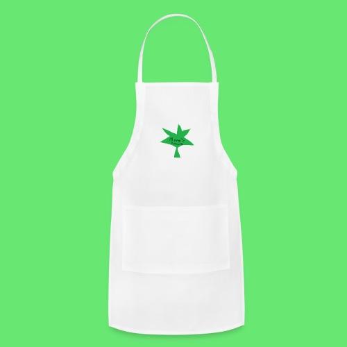 ESCLUSIVE!! 420 weed is coolio for kidlios SHIrT!1 - Adjustable Apron