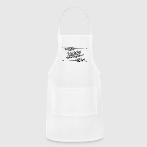 I_Am_In_Love_With_Myself-_With_My_Heart - Adjustable Apron