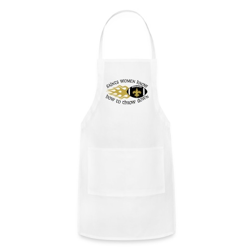 Saints Women Throwdown Light - Adjustable Apron