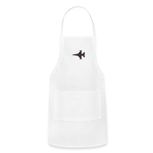 f 16 silhouette png - Adjustable Apron