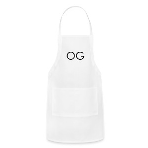 OG design white - Adjustable Apron