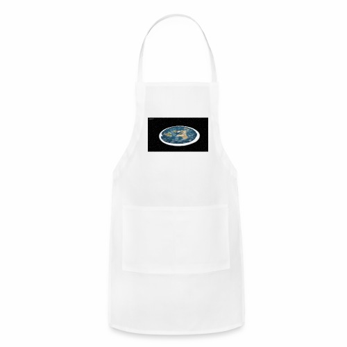 Flat Earth From Space - Adjustable Apron