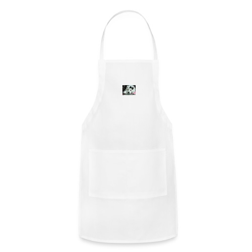 cute wolf - Adjustable Apron