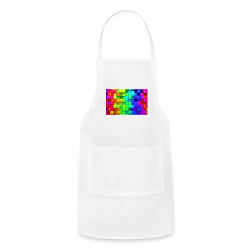 colorful picture - Adjustable Apron