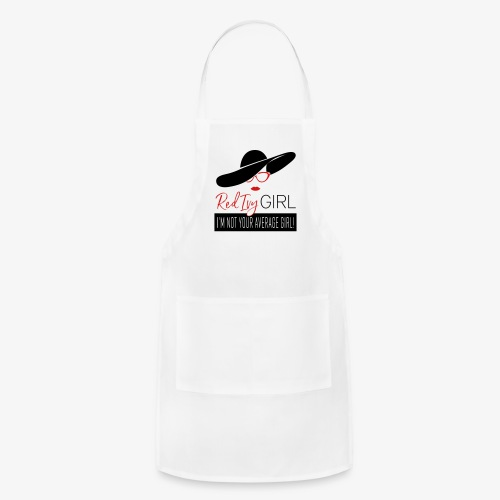 RED IVY GIRL - I'm Not Your Average Girl - Adjustable Apron