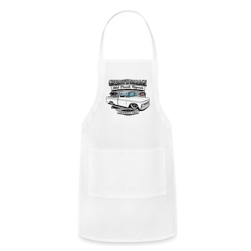 Greasy's Garage Old Truck Repair - Adjustable Apron