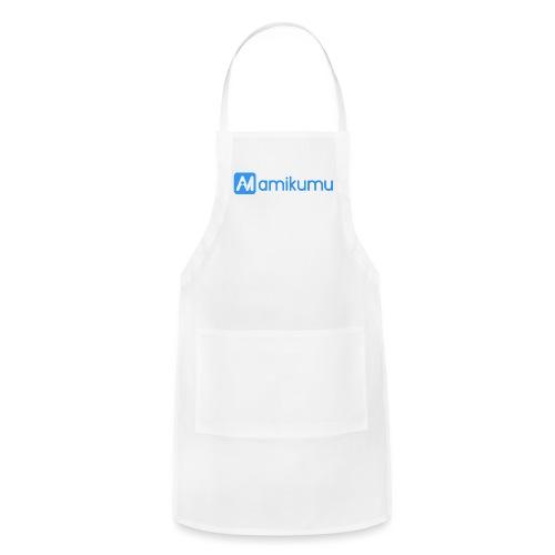 Amikumu Logo Blue - Adjustable Apron