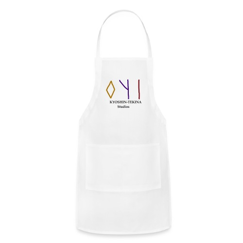 Kyoshin-Tekina Studios logo (black test) - Adjustable Apron