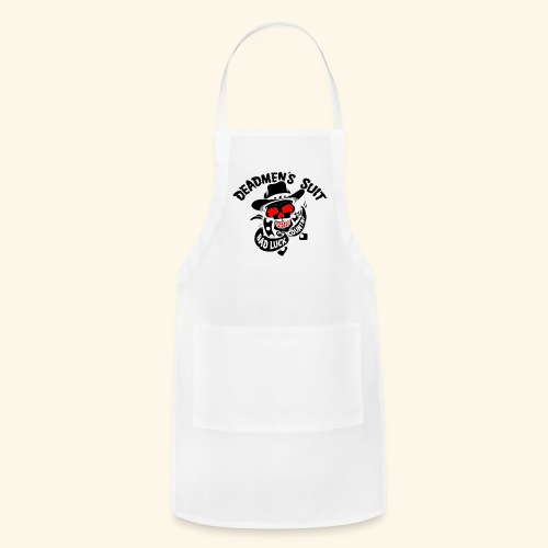 Deadmen's Suit Bad Luck#Skull - Adjustable Apron