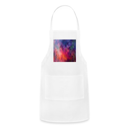 pattern of geometric shapes z15nM6qu L - Adjustable Apron