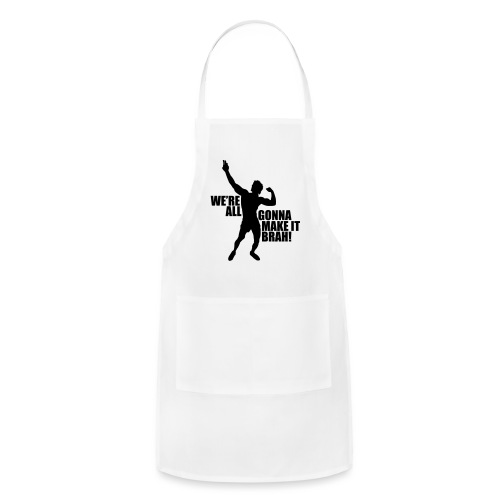 Zyzz Silhouette we're all gonna make it - Adjustable Apron