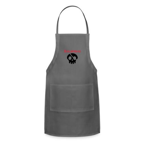 skull pirate 2 - Adjustable Apron