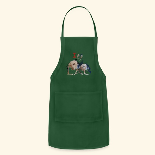 I love Lab - Adjustable Apron