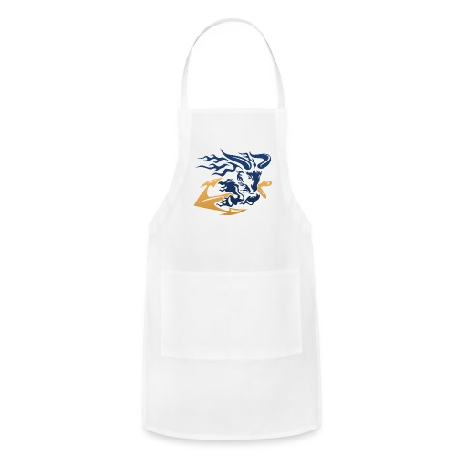 Goat with Anchor - Adjustable Apron