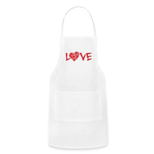 Love Heart2 - Adjustable Apron
