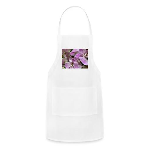 Purple Flower Beauties - Adjustable Apron