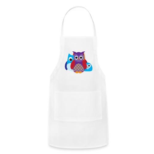 Cute Owls Eyes - Adjustable Apron