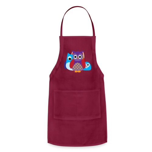 Cute Owls Eyes - Adjustable Apron