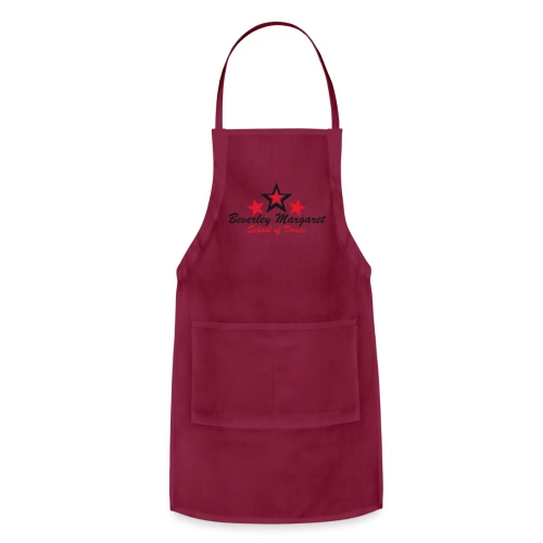 on white plus size - Adjustable Apron