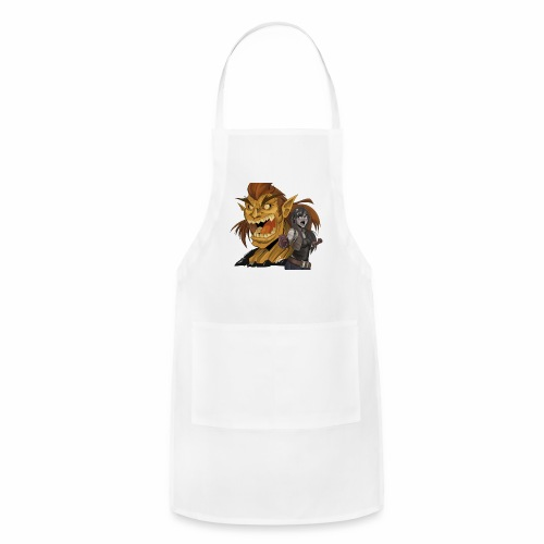Fighter and the Demon - Adjustable Apron