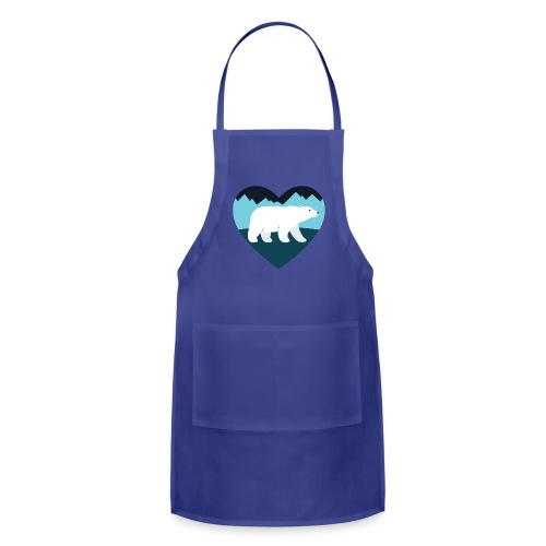 Polar Bear Love - Adjustable Apron