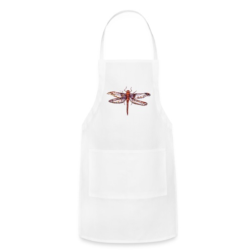 Dragonfly red - Adjustable Apron