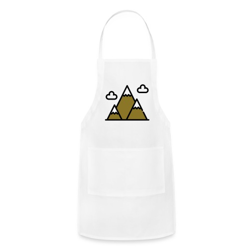 The Mountains - Adjustable Apron