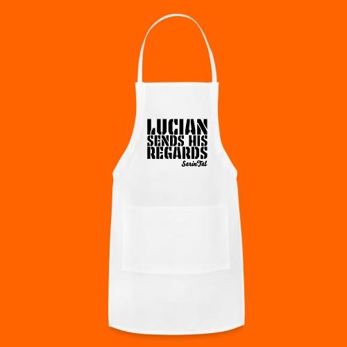 Lucian's Regards Dark - Adjustable Apron