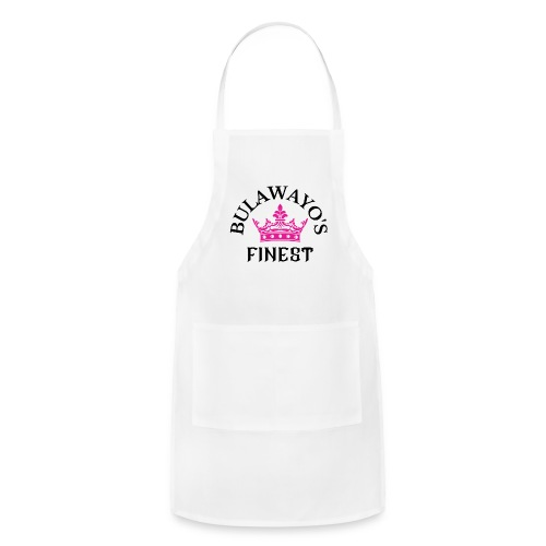 Bulawayo s finest Pink Crown with Black - Adjustable Apron
