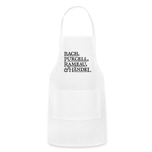 Fab Four of Early Music - Adjustable Apron