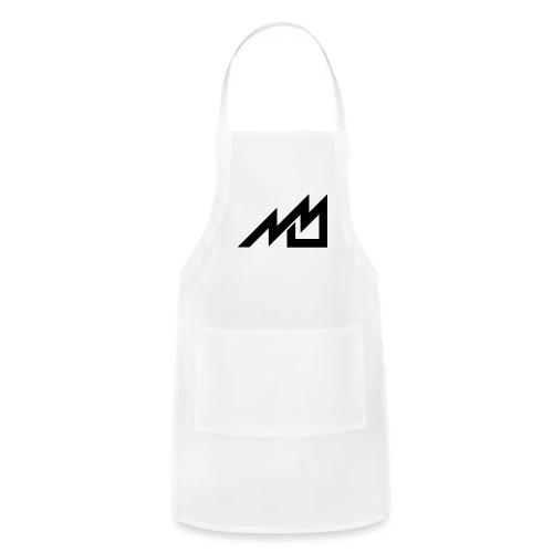 MrMan2247 Logo (black) - Adjustable Apron
