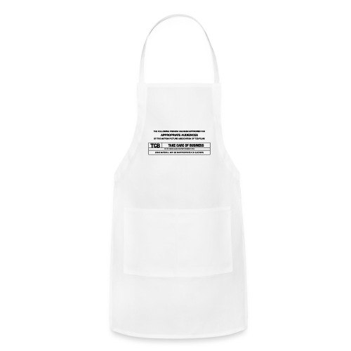 TCB Films Disclamer - Adjustable Apron