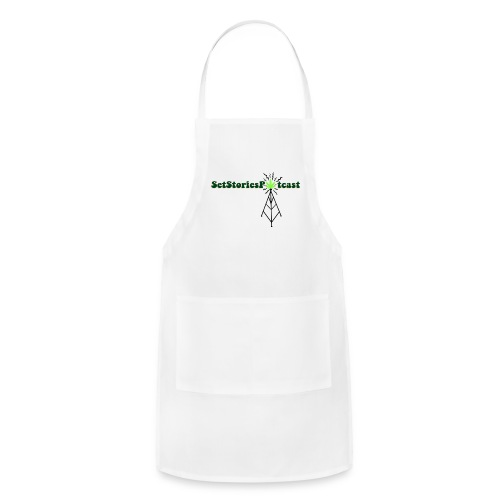 Potcast T Shirt Season 3 White - Adjustable Apron