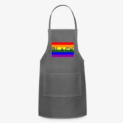 Black LGBTQ - Adjustable Apron