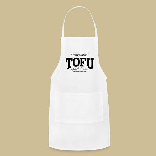 Tofu (black) - Adjustable Apron