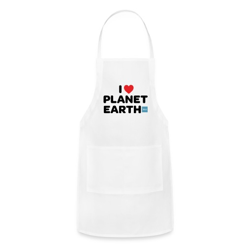 I Heart Planet Earth - Adjustable Apron