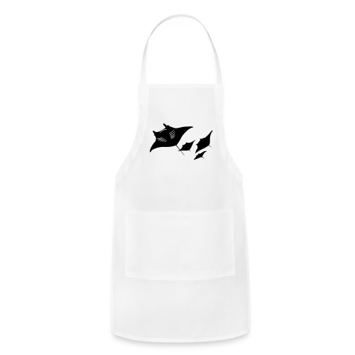 manta ray sting scuba diving diver dive - Adjustable Apron